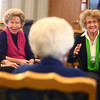 10-25-13<br /> Bunker Hill High School 65th reunion<br /> Mary Ann Crites, Carroll Prather, and Anita Bacon laugh as they reminisce during Bunker Hill's 65th class reunion at Northwood Commons.<br /> KT photo | Kelly Lafferty