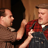 10-4-13<br /> Ole Olsen: Of Mice and Men<br /> George, played by John Kirk, and Lennie, played by Joe Pyke act on Ole Olsen's stage as they perform a scene from Of Mice and Men.<br /> KT photo | Kelly Lafferty