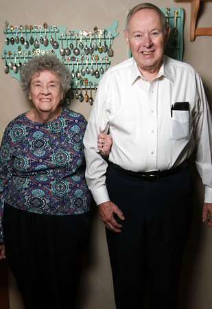 Faith and Bob Peterson have been married for 60 years.<br /> KT photo | Kelly Lafferty