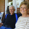 9-30-13  --- Richard and Jane Read on their front porch. Jane is a cancer survivor.<br />   KT photo | Tim Bath