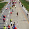 10-12-13<br /> Highway Half Marathon and 5K<br /> Highway Half Marathon runners make their way south on the new bypass near Boulevard on Saturday morning.<br /> KT photo | Kelly Lafferty