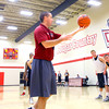 10-14-13  --  Coach Chase Thompson working with the team at IUK Basketball practice at the new gym behind Memorial Gym.<br />   KT photo | Tim Bath