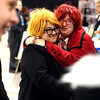 10-19-13<br /> Kokomo-Con<br /> Jocelyn and Zoe Estelle share a hug at Kokomo-Con on Saturday.<br /> KT photo | Kelly Lafferty