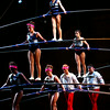 7-12-14<br /> Peru Circus<br /> A seven person pyramid makes their way across the high wire during the Peru Amateur Circus.<br /> Kelly Lafferty | Kokomo Tribune