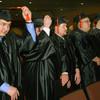 5-14-14   --- Graduation of Purdue University College of Technology Kokomo. Austin Hudson moves his tassel.  --<br />   Tim Bath | Kokomo Tribune