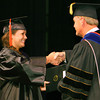 5-14-14   --- Graduation of Purdue University College of Technology Kokomo. Erica Norris receiving her diploma--<br />   Tim Bath | Kokomo Tribune