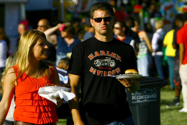 6-13-14 -- Ribfest 2014.    ---<br /> Tim Bath | Kokomo Tribune