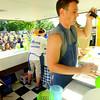 6-13-14 -- Robby Long making lemon shake ups at Ribfest 2014.    ---<br /> Tim Bath   Kokomo Tribune