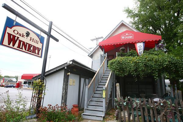 8-31-13<br /> Oak Hill Winery<br /> The front of Oak Hill Winery in Converse.<br /> KT photo   Kelly Lafferty