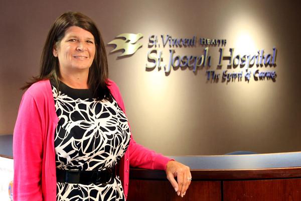 9-11-13  --  Kathy Young, St Joseph Hospital CEO<br />    KT photo | Tim Bath