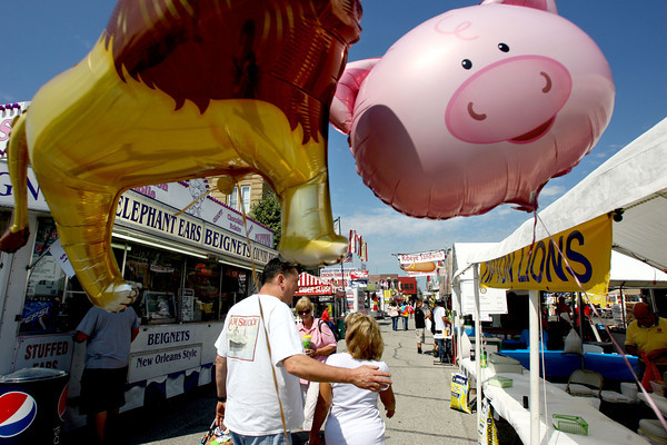 9-5-13  --  Tipton Pork Fest going on through Saturday evening. SEE the preview story.<br />    KT photo | Tim Bath