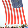 9-19-13  --  Volunteers let go of the flag as it is hoisted during the opening cermonies at the annual Vietnam Veterans Reunion. <br />    KT photo | Tim Bath