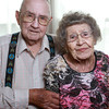 "Alfred ""Tookie"" and Jean Johnson have been married for 74 years.<br /> KT photo 