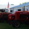 9-13-13<br /> Tractors line up part of the Converse fairgrounds for the tractor show.<br /> KT photo | Kelly Lafferty