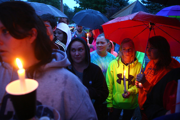 9-15-13<br /> Christian Reede candlelight vigil<br /> <br /> KT photo | Kelly Lafferty