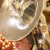 9-1-13<br /> Swampwater Stompers 20th Anniversary<br /> Dean McKamey plays the sousaphone in Swampwater Stompers.<br /> KT photo | Kelly Lafferty