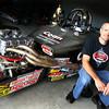 9-13-13  --  Jason Coan with his NHRA dragster.<br />    KT photo | Tim Bath