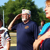 9-11-13<br /> 9-11 ceremony at IUK<br /> From left: Ronald Talbert, Pat Gebhart, and Cathy Valcke say the Pledge of Allegiance during the 9-11 ceremony at IUK on Wednesday morning.<br /> KT photo | Kelly Lafferty