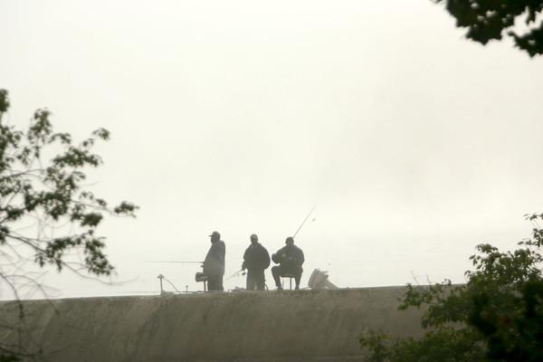 9-26-13  --   Fog over the Kokomo Resevoir.<br />   KT photo   Tim Bath