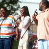 8-31-13<br /> Gospel Fest<br /> Fountain of Life Worship Center performs at Foster Park on Saturday.<br /> KT photo | Kelly Lafferty