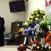 9-19-13<br /> Christian Reede funeral<br /> Past Jeff Russell speaks during Christian Reede's funeral on Thursday morning.<br /> KT photo | Kelly Lafferty