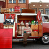 "9-28-12<br /> Oktoberfest<br /> 95-year-old Lenore Costello sits inside her Volkswagen Westfalia Camper that she and her husband bought in 1960 when they traveled to Germany. The Camper's name is ""George.""<br /> KT photo 