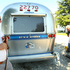 9-12-12<br /> Airstream campers converging on Tipton County Fairgrounds. Dan Kachele watches Ida Mae Heushberger and Ron Gordy who hug as Ron approaches.<br /> KT photo | Tim Bath