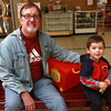 9-22-12<br /> Out and About Markland Mall<br /> Dale and Luke Meyers<br /> KT photo | Kelly Lafferty