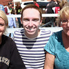 9-8-12<br /> Out and about pork fest<br /> Abby Neff, Patrick Brown, Gina Neff<br /> KT photo | Kelly Lafferty