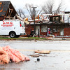Severe storms caused damage to businesses along Hoffer Street.<br /> KT photo | Kelly Lafferty