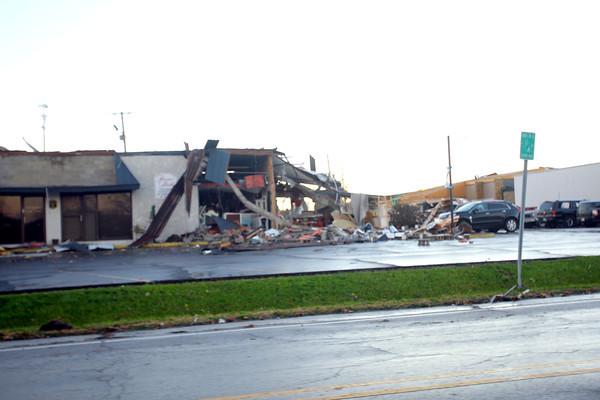 Lincoln Road damage.<br />   KT photo | Tim Bath