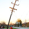 Power lines down across Guyer north of Boulevard.<br />   KT photo | Tim Bath