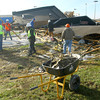 BMO Harris Bank debris being cleaned up.<br />   KT photo | Tim Bath