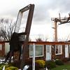 Sunday's tornado caused damage to businesses along Hoffer Street.<br /> KT photo | Kelly Lafferty