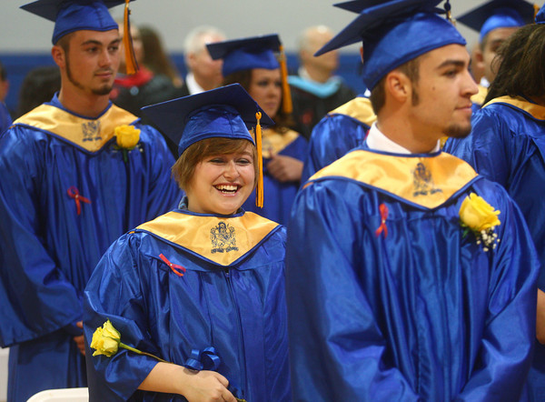 5-31-14<br /> Tri Central graduation<br /> <br /> Kelly Lafferty | Kokomo Tribune