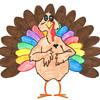"""Maisy Harlow<br /> """"Unicorn Turkey"""" <br /> School: Western <br /> Age: 3rd grade"""