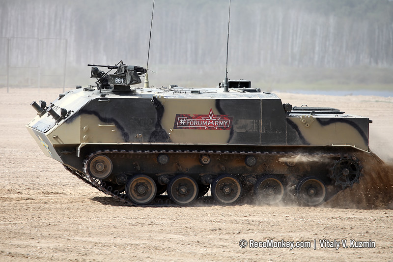 BTR-MDM armored personnel carrier