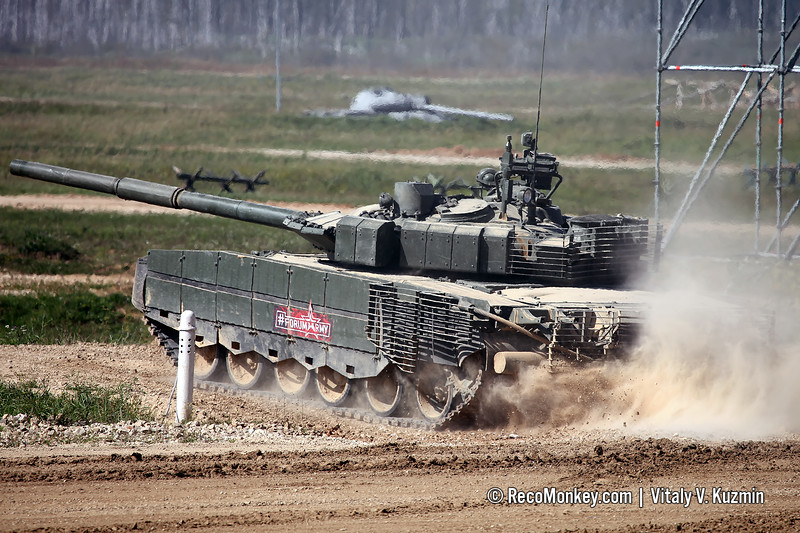 T-80BVM main battle tank