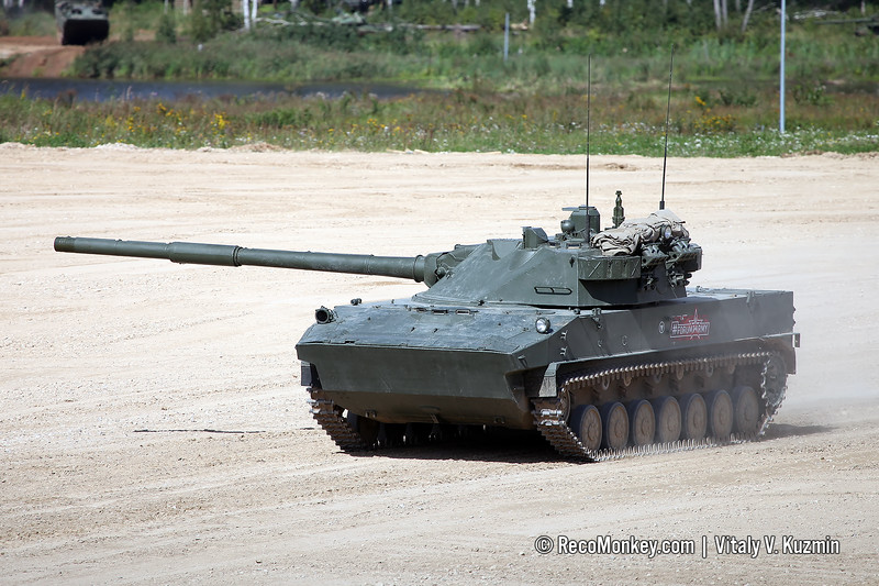 2S25 Sprut-SD self-propelled tank destroyer