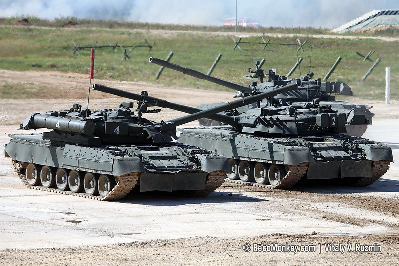 T-80U main battle tank
