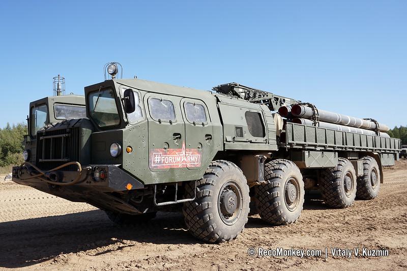9T234-2 transporter-loader of 9K58 / BM-30 Smerch MLRS