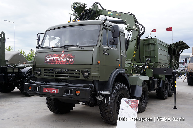 UTM-80M decontamination vehicle