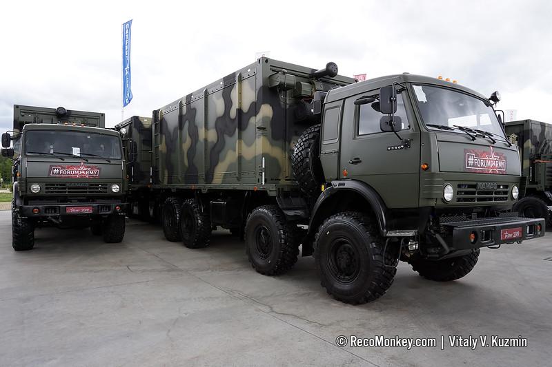 PKhK-M mobile bakery, includes 6 vehicles
