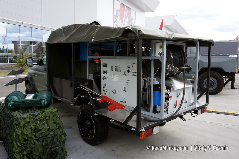 Gyurza fire fighting and rescue vehicle