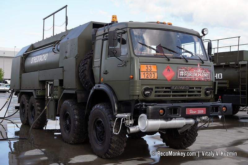 ATZ-12-10-63501 fuel truck