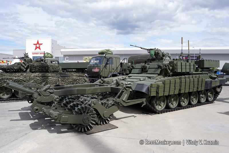 BMR-3MA mine-clearing vehicle