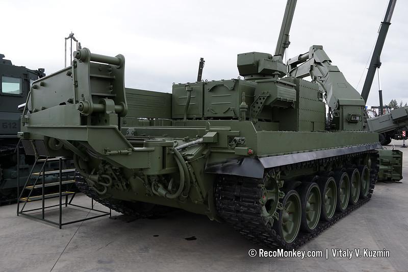 UBIM multifunctional combat engineering vehicle