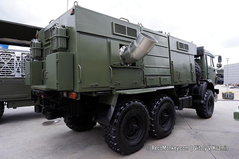 TDA-3 smoke vehicle