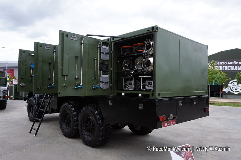 KDA decontamination vehicle