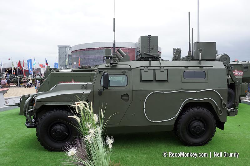 RKhM-8 CBRN reconnaissance vehicle